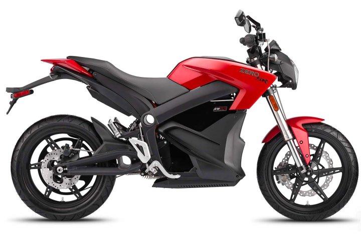 EICMA : plus de vitesse et d'autonomie pour la Zero SR