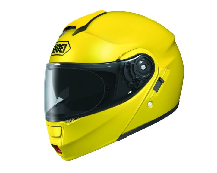 Gear for the year – Warren's Shoei Neotec helmet