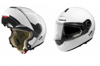 Schuberth is offering a discount for riders wishing to upgrade to a C3W.