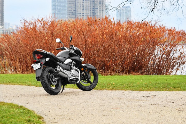 The GW250 has love-it-or-hate-it styling.