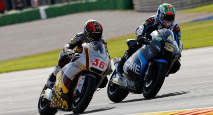 Mika Kallio (36) ended up fourth overall in Moto2 standings.