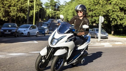 The Yamaha Tricity scooter concept will make it to production.