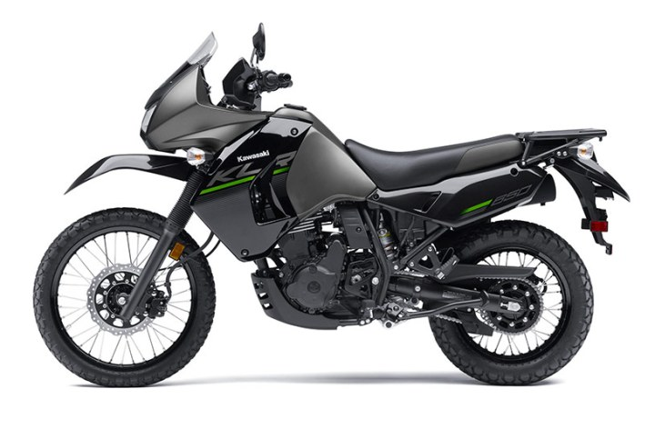 "Kawasaki unveils ""New Edition"" KLR650"