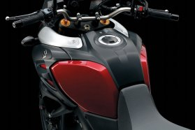 2014 Suzuki V Strom 1000 fuel tank