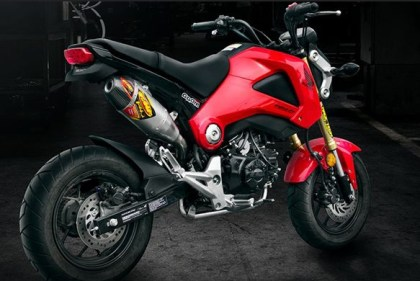 FMF has come out with a new exhaust for the Grom.