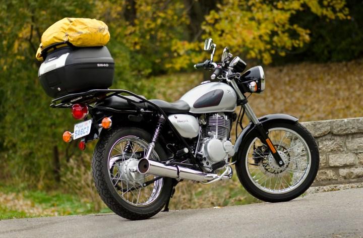Mr. Seck's TU250 Luggage Reviews, Part 1