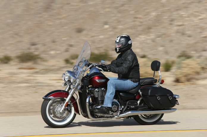 The bikes make gobs of torque, meaning you can lug the engine quite easily.