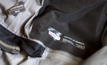 Instead of a waterproof shell, the Sand 2 gear relies on a zip-in liner. Photo: Zac Kurylyk