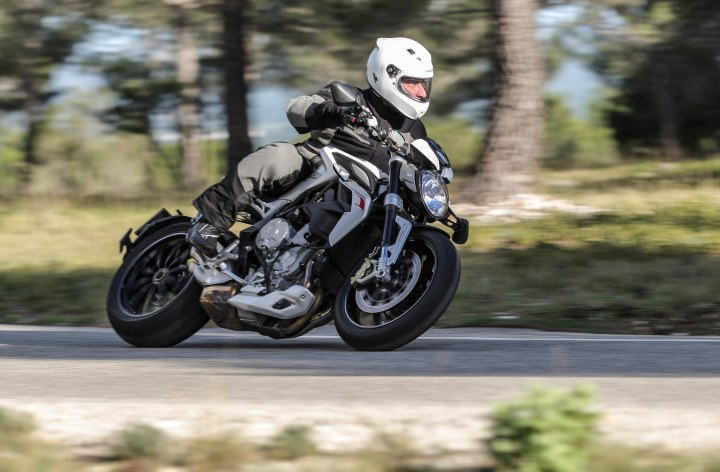 MV Agusta Dragster: Lean, mean performance