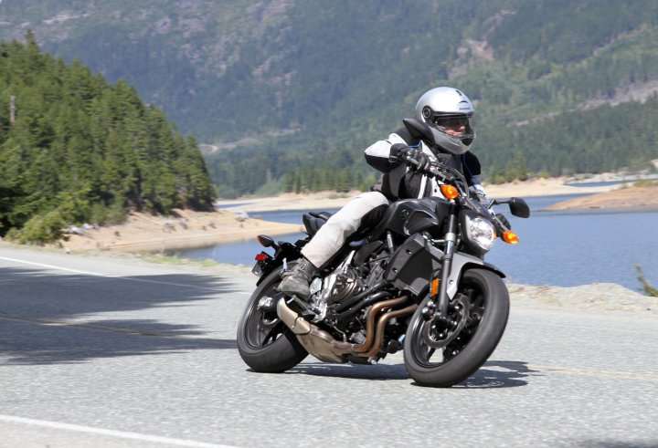 ABS isn't available on the Canadian FZ-07, but is an option on the European version (known as the MT07).