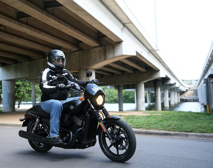 Costa breaks from cover on the new Street 750.
