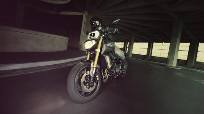 2014 Yamaha FZ09 Street Tracker