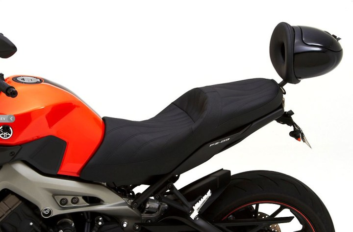 Corbin selling new seats for Yamaha FZ-09
