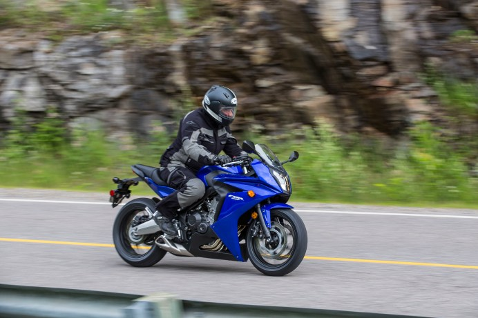 The CBR650 is all-new, but uses old-school technology.