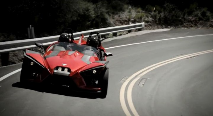 Video: Polaris Slingshot breaks cover officially