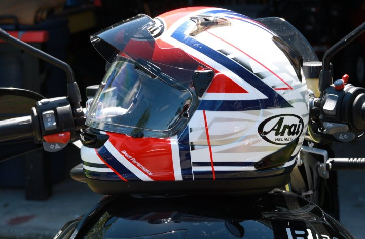 Review: Arai Pro Shade visor system