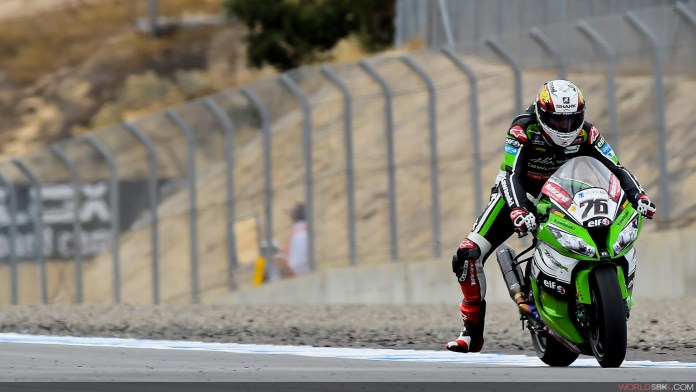 Loris Baz was another of the weekend's victims.