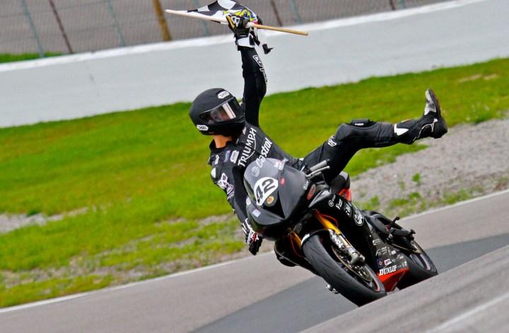 Kenny Riedmann to return for Triumph in CSBK