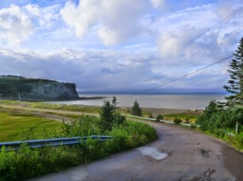 The road to Cape Enrage, the day's first stop, is tricky in parts, thanks to sand and bumps, but uber-twisty. Photo: Ron Kierstead