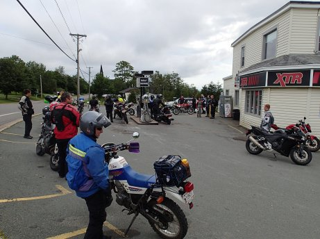 Gas stop in St. Martins. Photo: Rob Harris