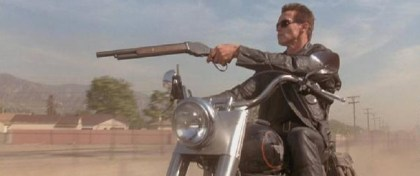 So, we're wondering - is this robot rider program how the Terminator learned to ride a bike in all those movies?