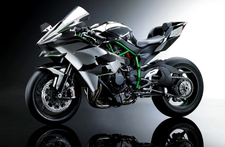 Kawasaki H2, H2R: Not for showrooms
