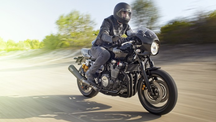 The XJR1300 gets a classic racer variant but unlikely to come here