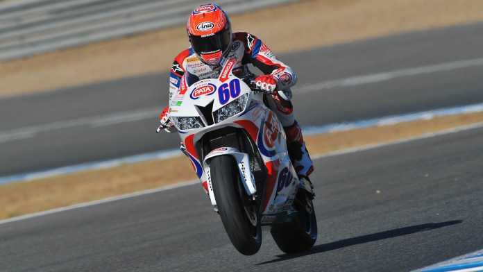 It's been Michael Van Der Mark's season in 2014. He clinched the title at Jerez.