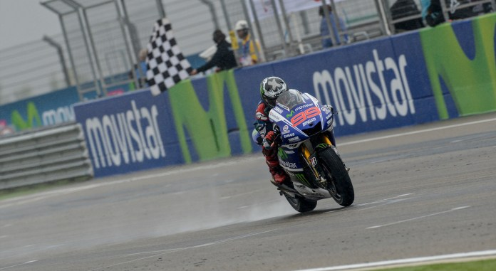 Lorenzo finally earned his first win of the year at Aragon.