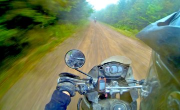 The Fundy area of southern New Brunswick is a great Adventure Rider's paradise.