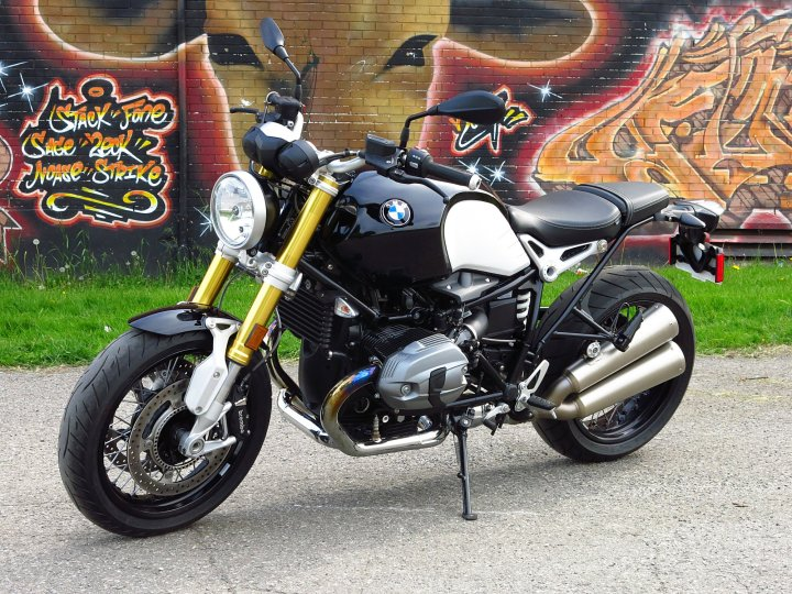 There isn't a lot of high-tech trickery aboard the R nineT - just ABS (standard on all Beemers) and EFI.