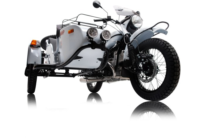 Sidecar madness: Ural announces MIR special edition