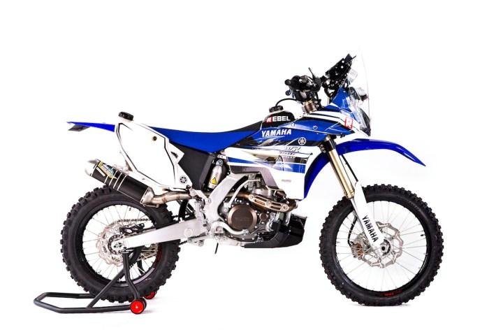 Rebel X, Yamaha Italy release Dakar-ready rally machine