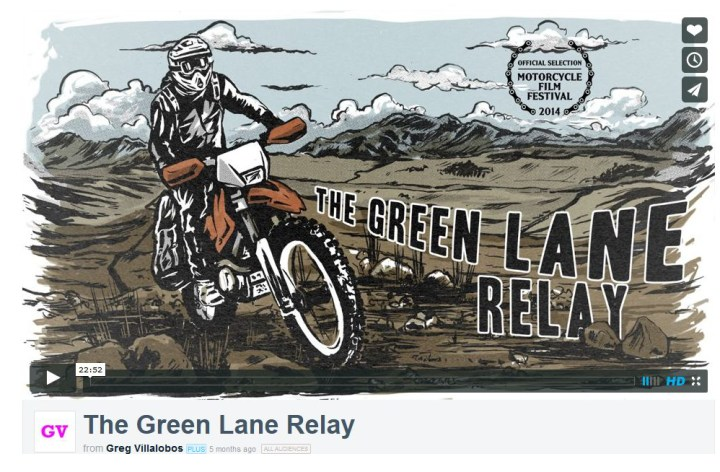 Video: The Green Lane Relay