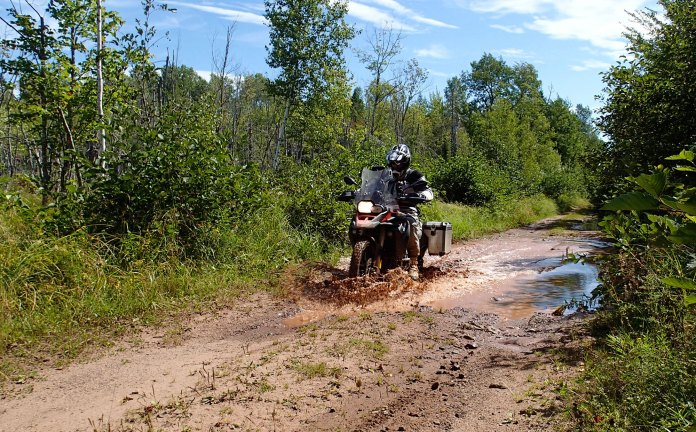The GSA proved to be a very capable adventure ride, even if it took a while to master.