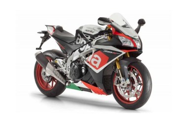 The RSV4 RF comes with the Race Pack as standard, and with superpole livery.