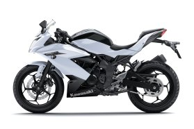 Kawasaki says new Z300 is first of its size in supernaked