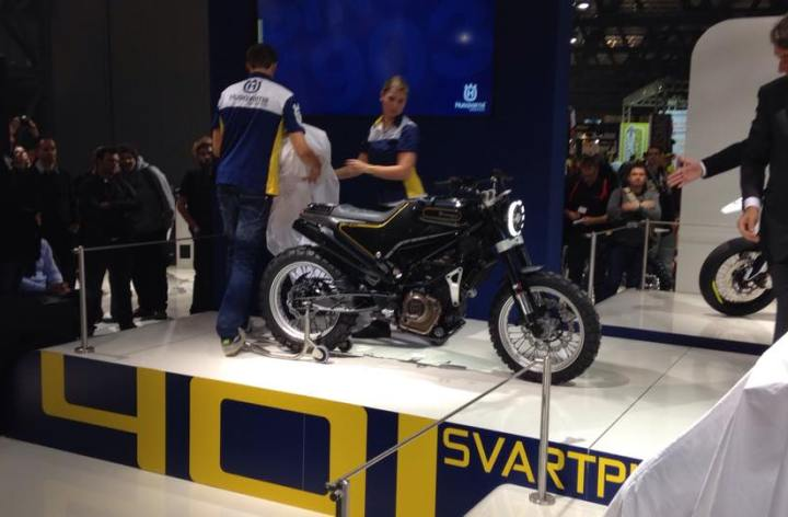 Back with a bang! Husqvarna shows new street bikes