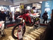 Honda's Dakar race bike