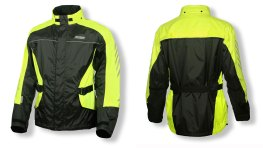 Jacket is bright and functional