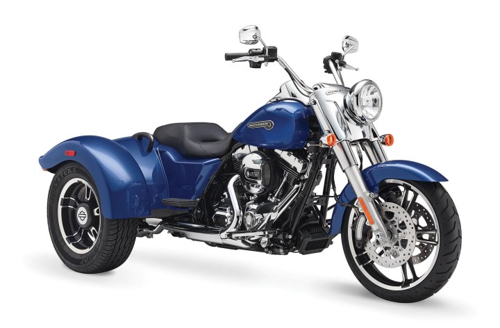 Harley-Davidson drops some MSRPs, upgrades Touring and Trike models