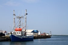 Fishing is still the most important industry on the Magdalen Islands.