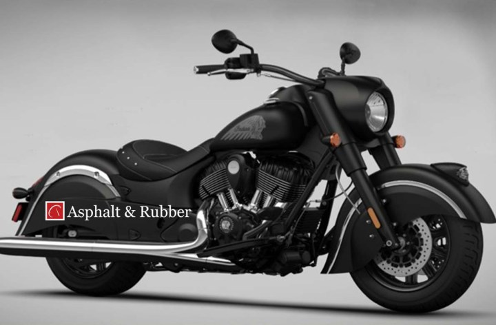 Indian Chief Dark Horse photos leaked