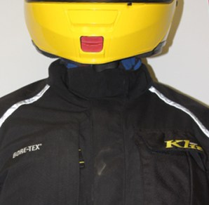 A good jacket has a collar designed to keep water out, and the Klim fits the bill.