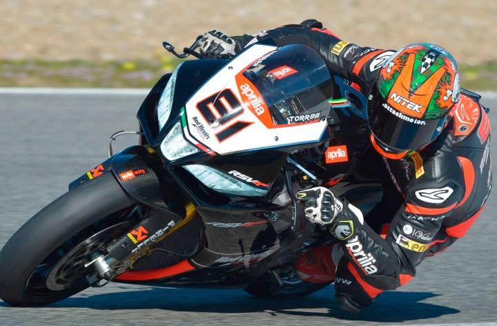 Max Biaggi says he won't race this year