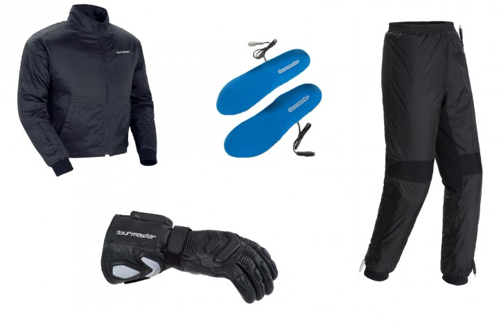 While the heated jacket is the most important part, if you can complete the whole package of heated kit, it'll keep you toasty.