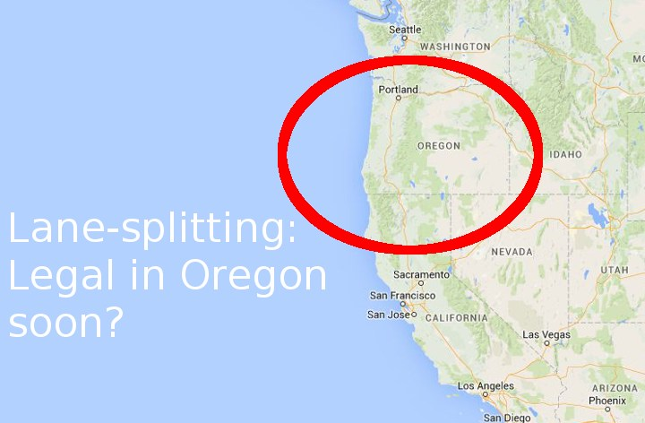 Oregon may legalize lane-splitting
