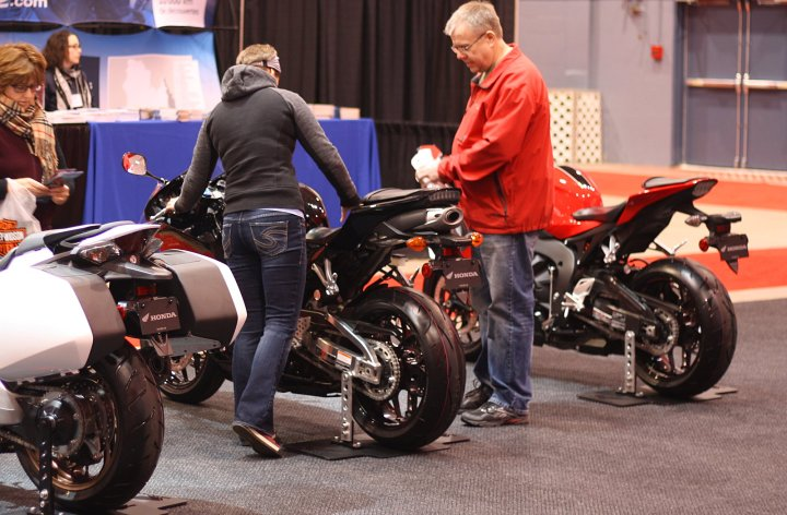 Montreal Motorcycle Show starts today