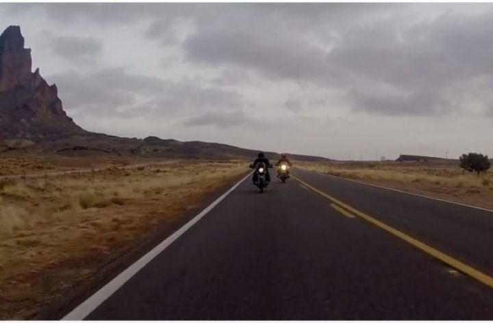 Video: Song of the Open Road (via cafe racer!)