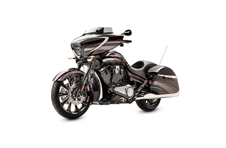 """Victory Magnum X-1: """"Our loudest bike ever"""""""